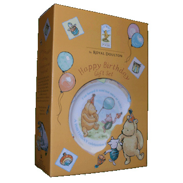 Royal Doulton Winnie The Pooh 3 Piece Birthday Set