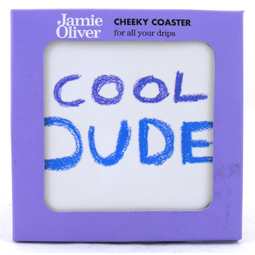 Cool Dude Round Coaster