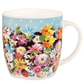 Flower Patch Olive Mug 284ml