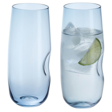 Hollow Highball Glasses (PAIR)