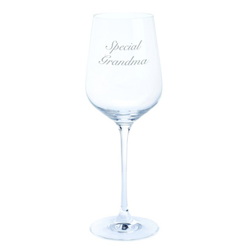 Just For You 'Special Grandma' Wine Glass