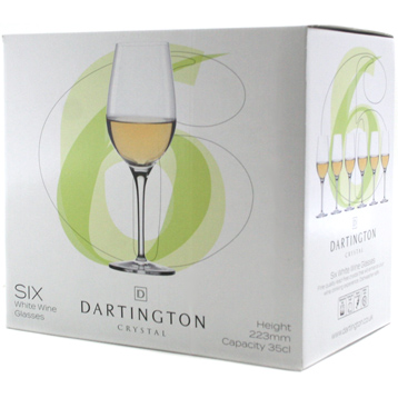 White Wine Set of Six Glasses