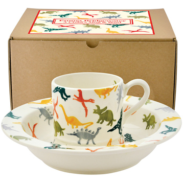 Dinosaurs Child's Mug & Bowl