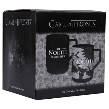 The North Remembers Heat Changing Tankard