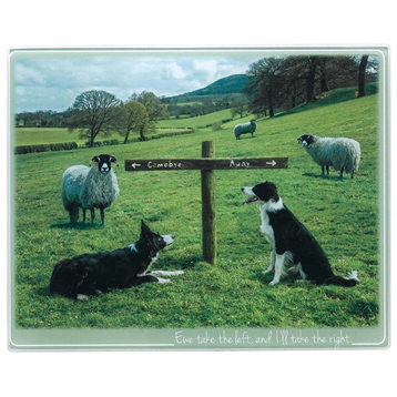 Ewe Take The Left Small Trivet