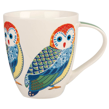 Paradise Birds Owl Crush Mug 500ml