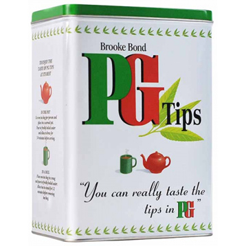 PG Tips Tall Rectangular Tin