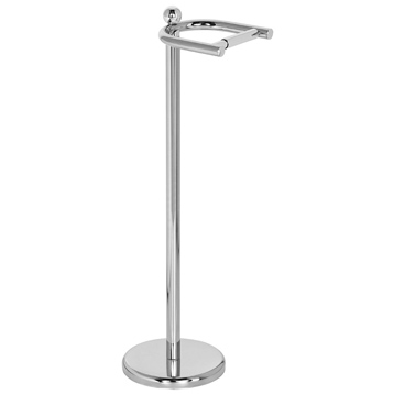 Premier Freestanding Toilet Roll Holder in Chrome