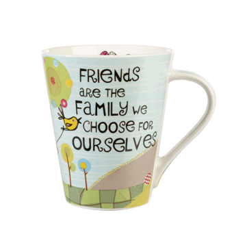 Friends Are Family Flight Mug