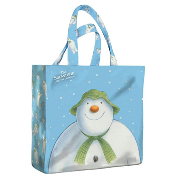 Snowman PVC Mini Gusset Bag