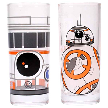 BB-8 Set of Two Glasses