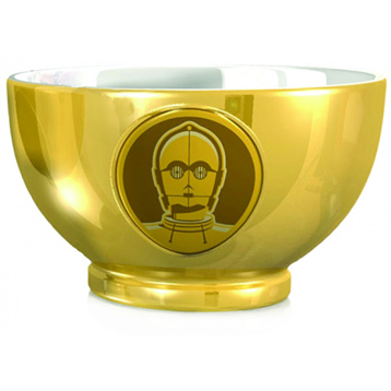 C-3PO Embossed Metallic Bowl