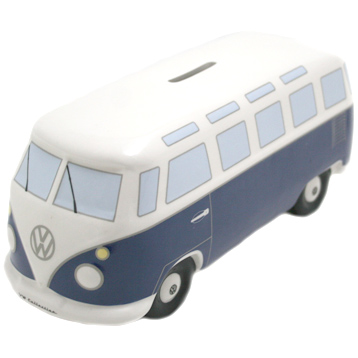 Volkswagen Camper T1 Bus Ceramic Money Box